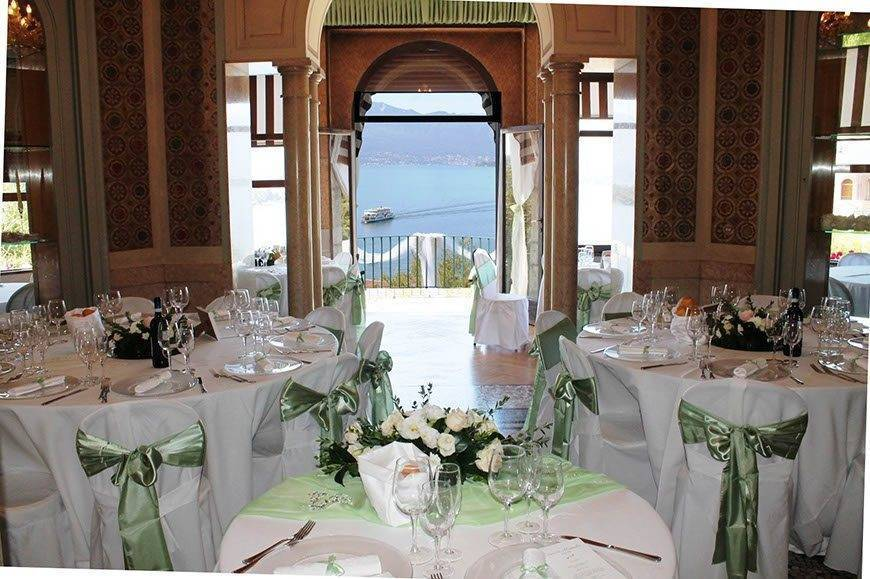 reception lake maggiore view 2 - Luxury Wedding Gallery