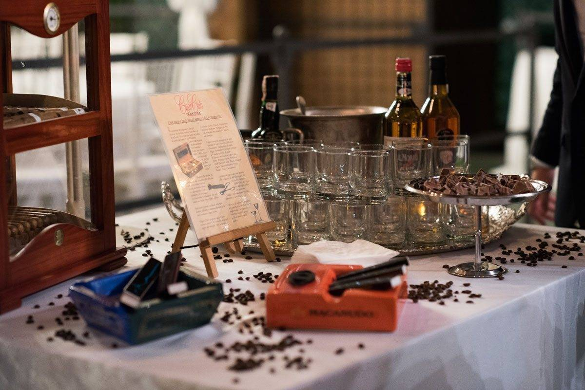 rum chocolate and cigars - Luxury Wedding Gallery