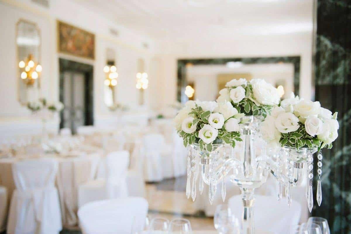 table centerpiece detail  - Luxury Wedding Gallery