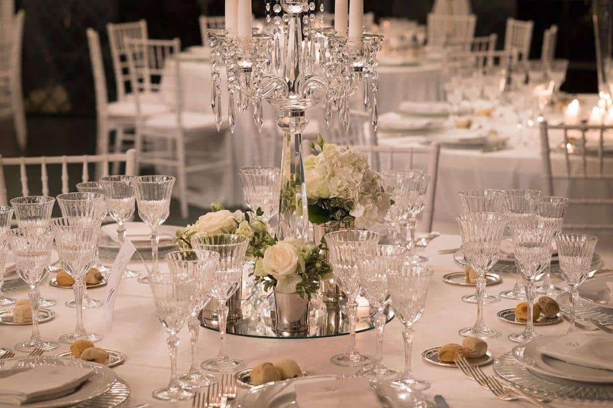 table centerpiece details - Luxury Wedding Gallery