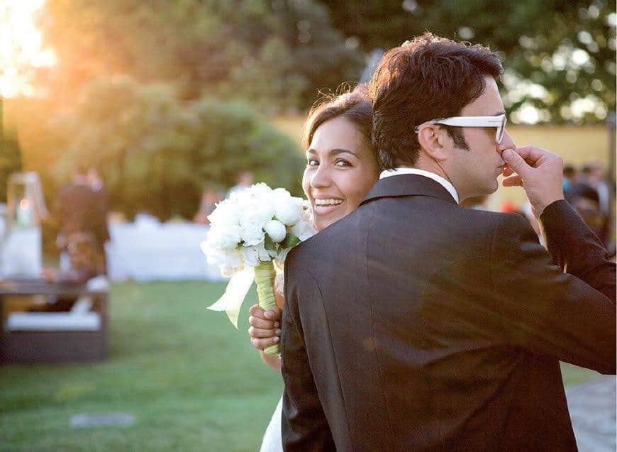 trendy couple wedding bride groom la fete - Luxury Wedding Gallery