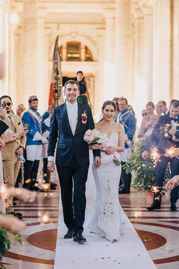 wedding ceremony la fete bride groom - Luxury Wedding Gallery