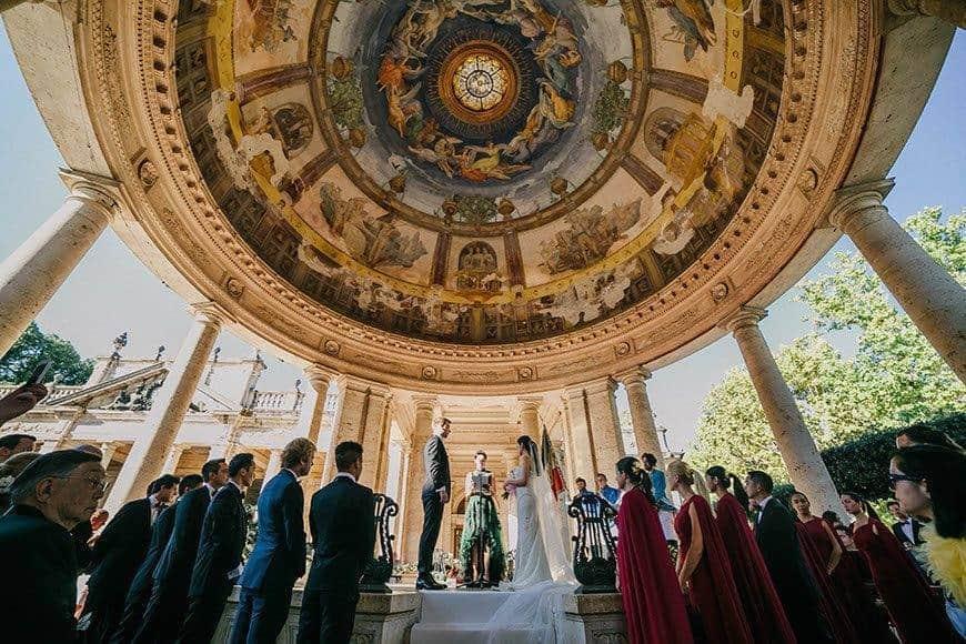 wedding ceremony la fete - Luxury Wedding Gallery