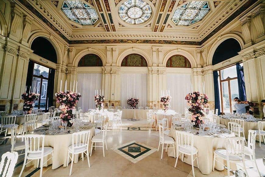 wedding reception la fete - Luxury Wedding Gallery