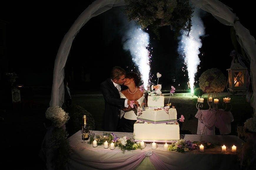 wedding cake cut - Luxury Wedding Gallery