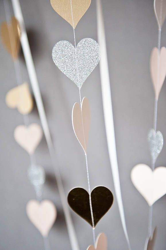 10Hummingbird cards papercut heart garlnds - Luxury Wedding Gallery