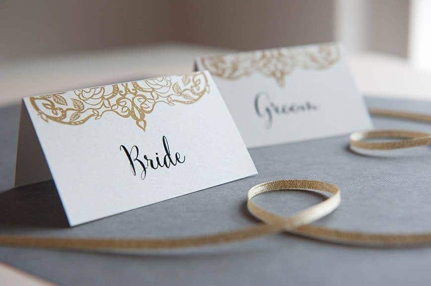 16 Hummingbird Cards placecards - Luxury Wedding Gallery