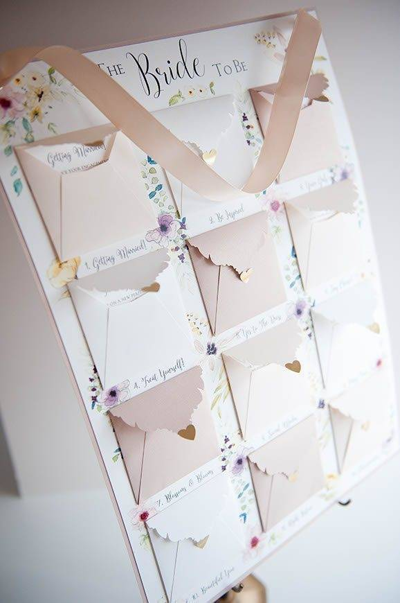 25 Hummingbird Cards Brides to do Calendar - Luxury Wedding Gallery