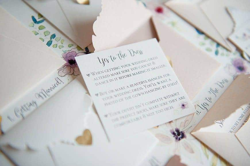 26 Hummingbird Cards Brides to do calendar - Luxury Wedding Gallery