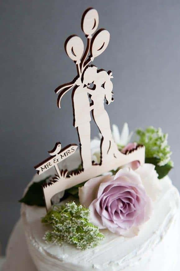 28 Hummingbird Cards wedding cake topper - Luxury Wedding Gallery