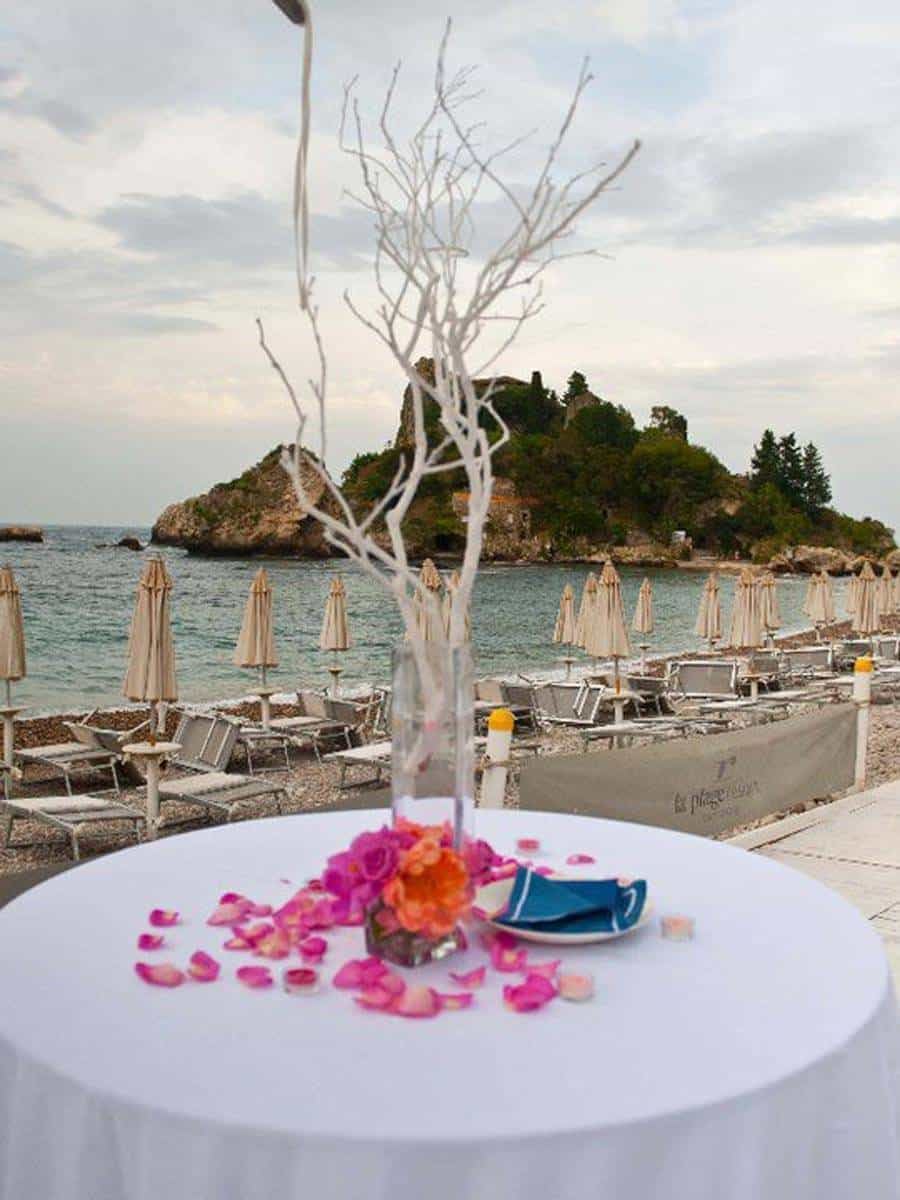 29 tavolo spiaggia - Luxury Wedding Gallery