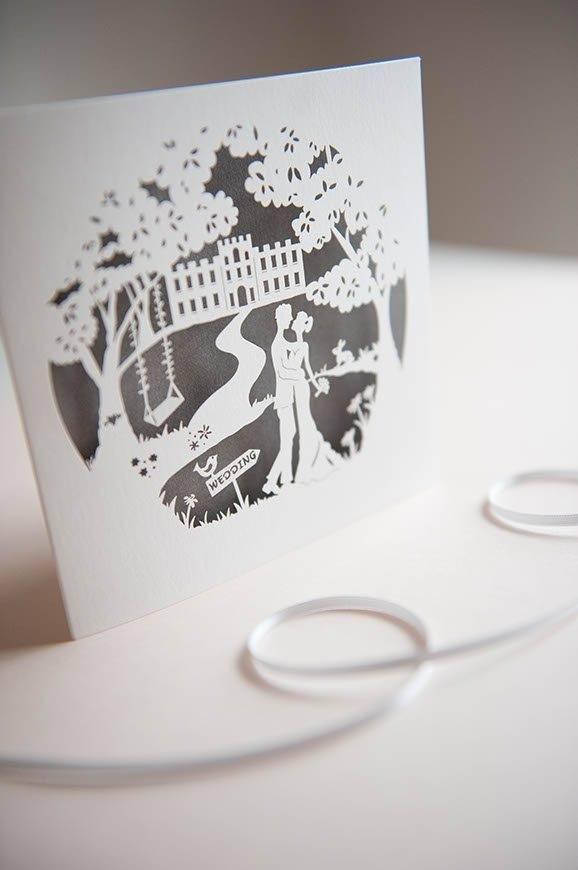 2Hummingbird cards fairytale wedding invitation 12 - Luxury Wedding Gallery