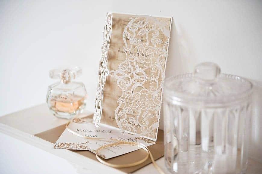 4Hummingbird Cards laser cut Wedding invitations - Luxury Wedding Gallery
