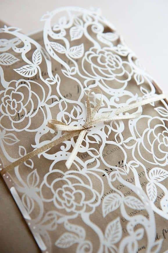 5 Hummingbird Cards Ethereal lasercut WEDDING invitation - Luxury Wedding Gallery