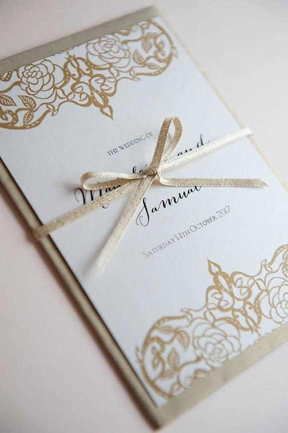 6 Hummingbird Cards printed Ethereal wedding invitation - Luxury Wedding Gallery