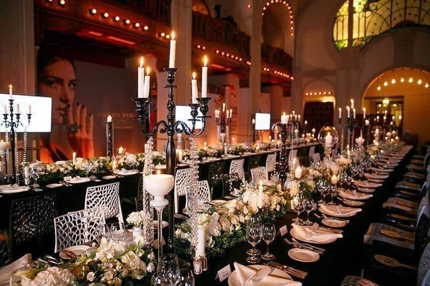 LEurope Restaurant event - Luxury Wedding Gallery