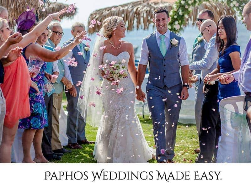 Paphos Weddings Made Easy.