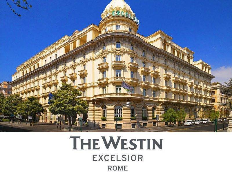 The Westin Excelsior Rome  - Luxury Wedding Gallery
