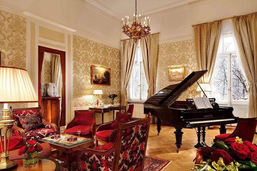 Unique Historic Suite Pavarotti Suite - Luxury Wedding Gallery