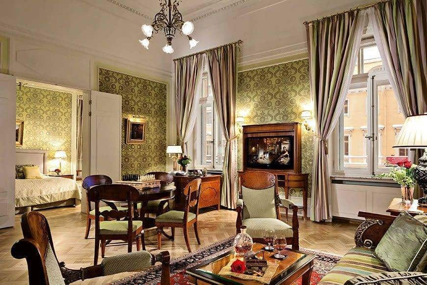 Unique Historic Suite Stravinsky Suite - Luxury Wedding Gallery