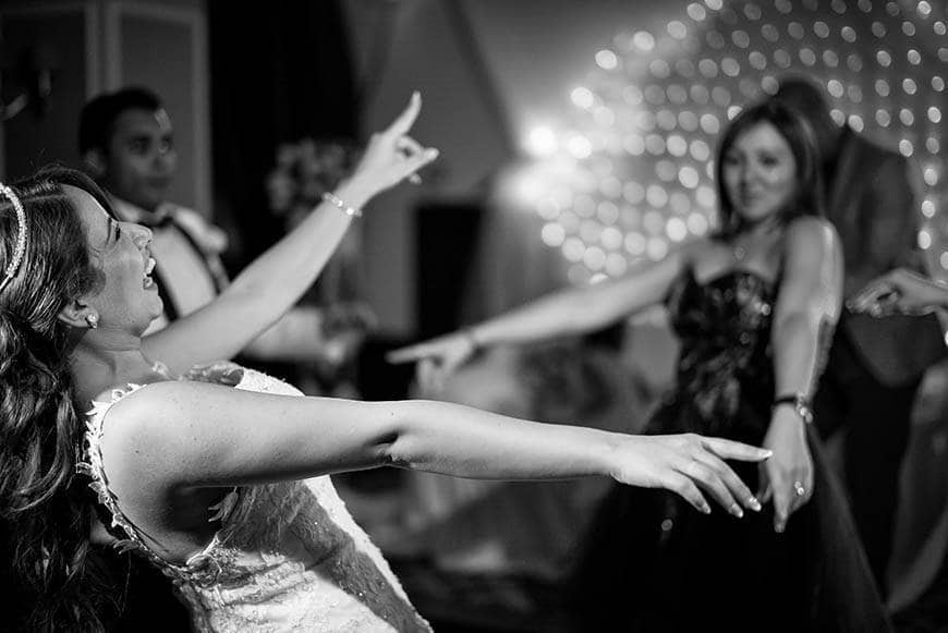Bride dancing on her cyprus wedding - Luxury Wedding Gallery