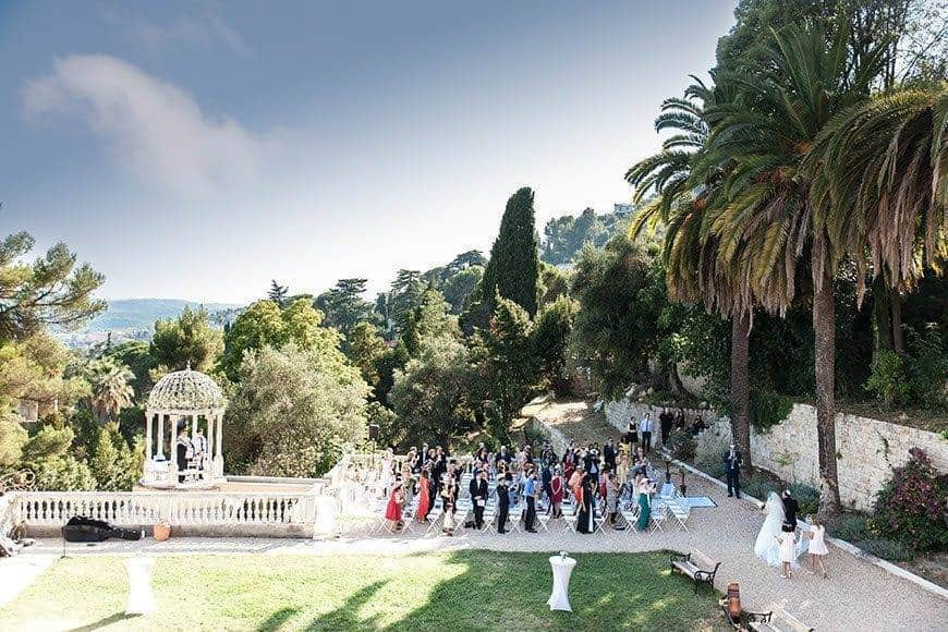 Ceremony at the Love Temple - Luxury Wedding Gallery