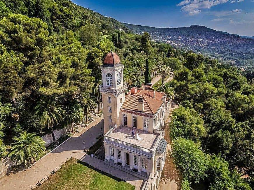 Drone view - Luxury Wedding Gallery