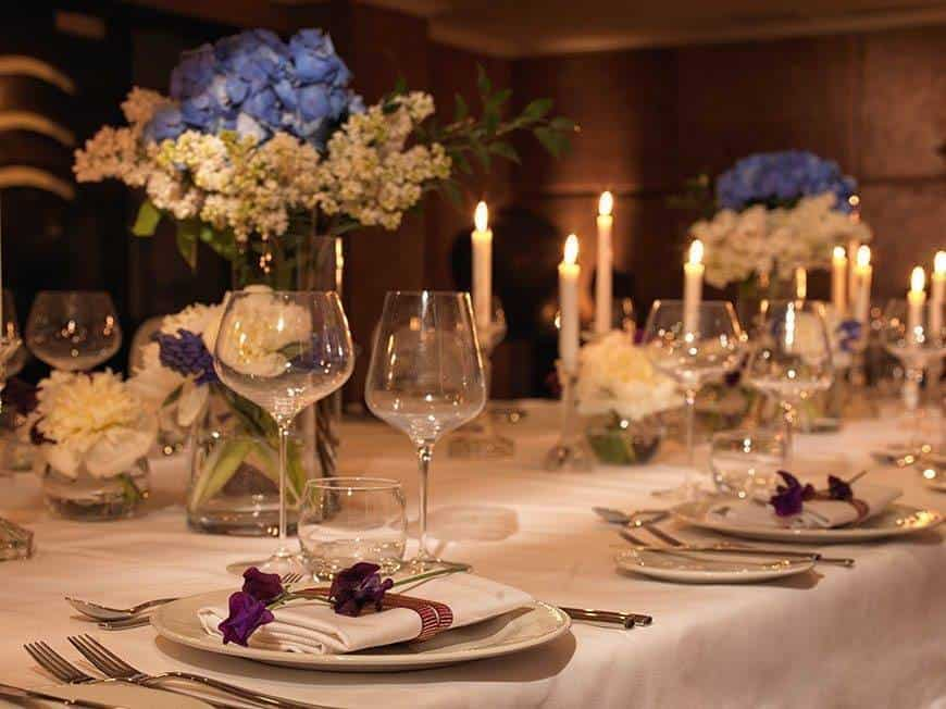 May Fair Private Dining - Luxury Wedding Gallery