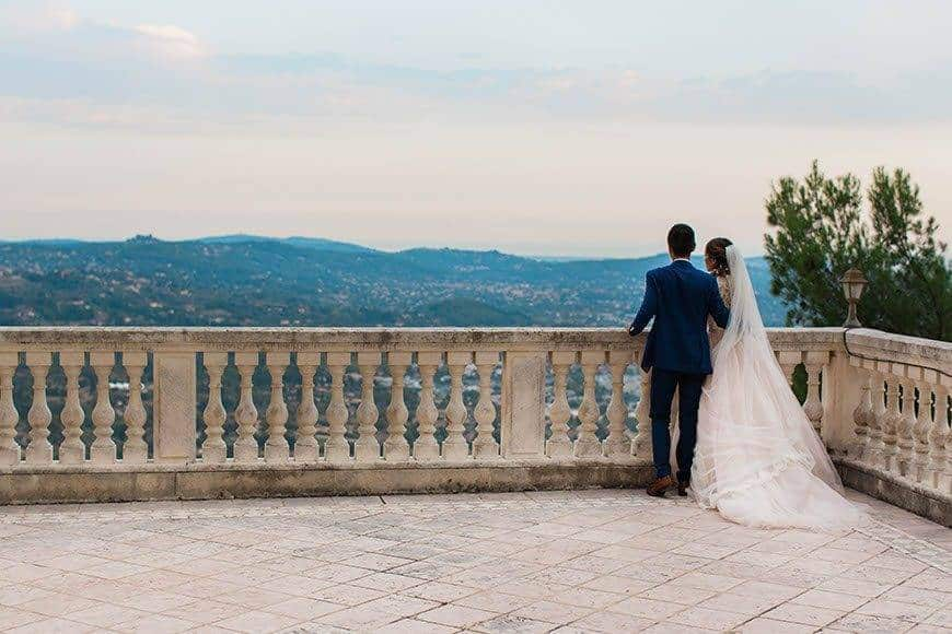 Private terace with view - Luxury Wedding Gallery