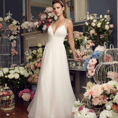 New collections from Paloma Blanca and Mikaella Bridal