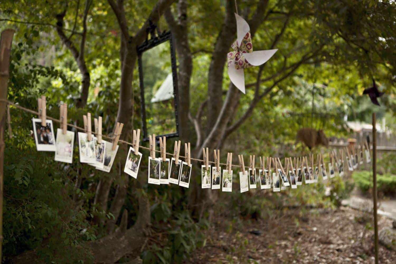 Top tips for a garden wedding