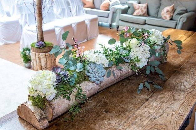 Blush Pink Succulents Weddings at Careys Manor credit ASR Photo 11