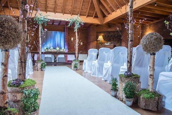 Blush Pink Succulents Weddings at Careys Manor credit ASR Photo 5