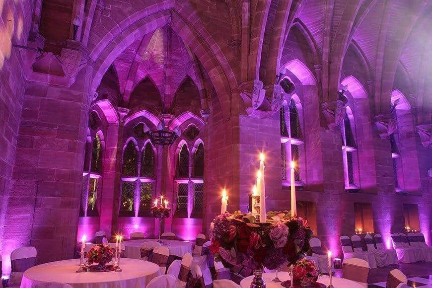 Great Hall evening - Luxury Wedding Gallery