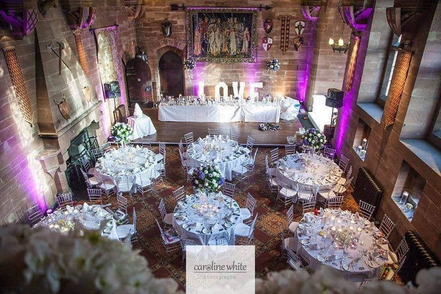 Great Hall rounds - Luxury Wedding Gallery