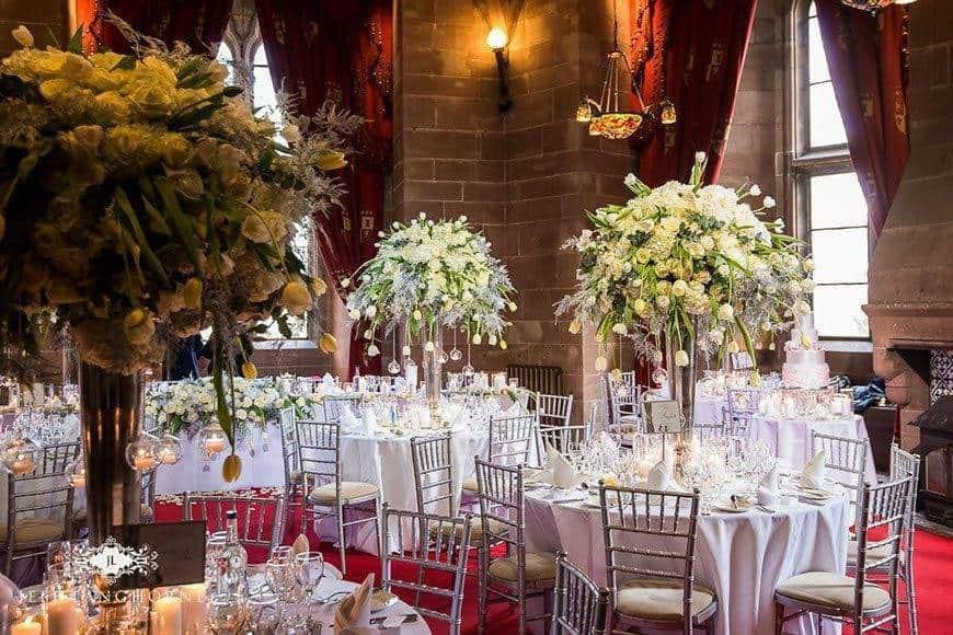 Hexagonal suite - Luxury Wedding Gallery
