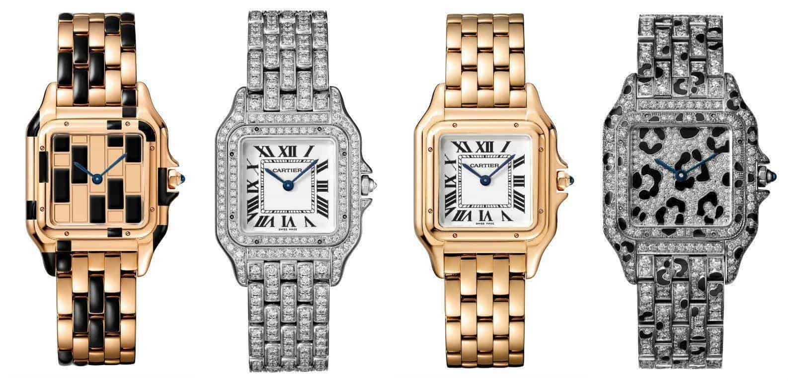 Panthere de Cartier watches