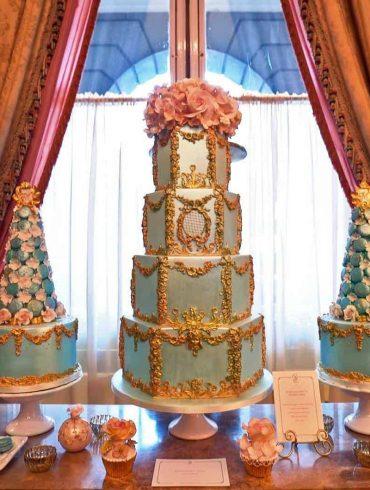 A uniquely exclusive cake event