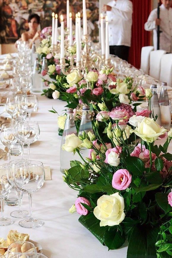 Sala Gaia table detail - Luxury Wedding Gallery