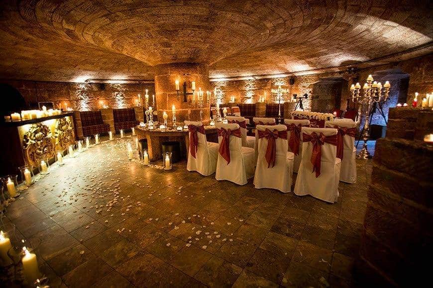 Wine cellar civil ceremony - Luxury Wedding Gallery