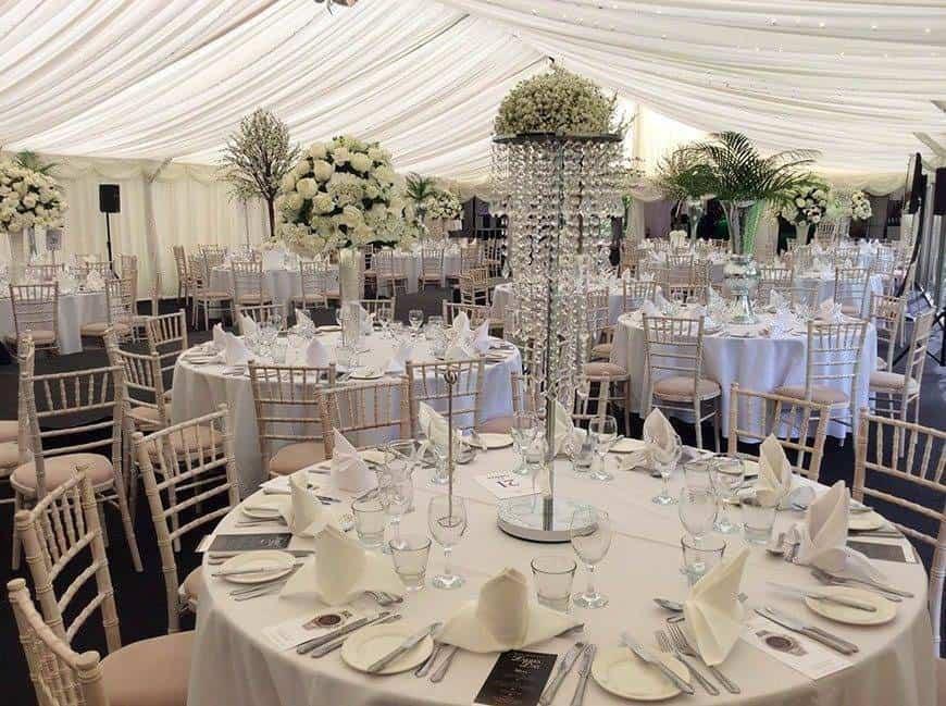 marquee dressed - Luxury Wedding Gallery