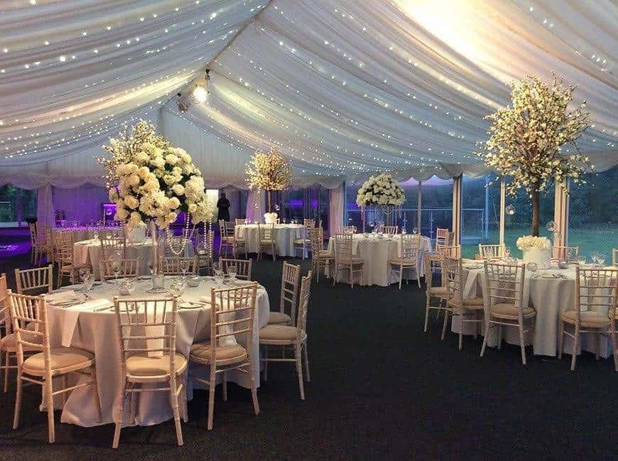 marquee set - Luxury Wedding Gallery