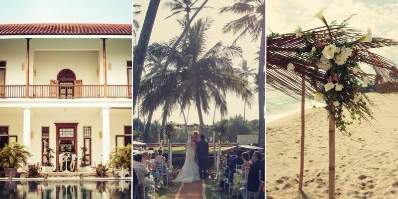 Three stunning hand picked villas for a wedding in Sri Lanka 1