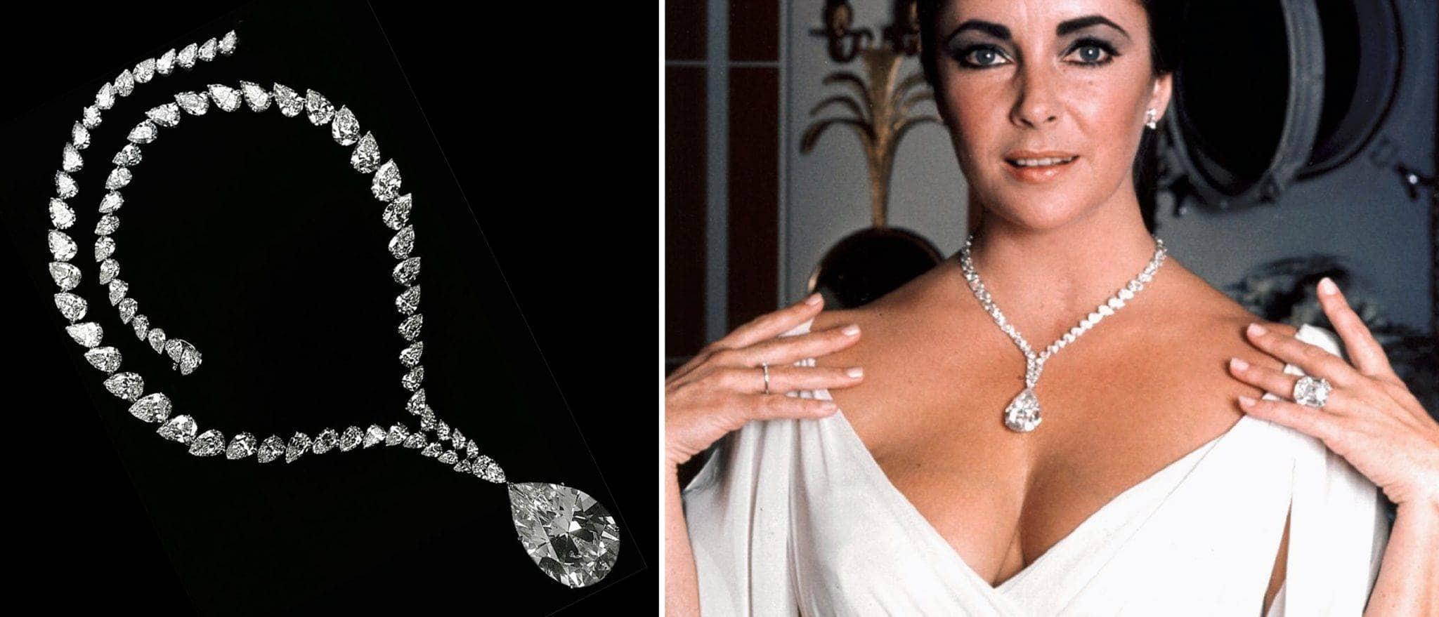 Cartier diamonds Taylor Burton Diamond