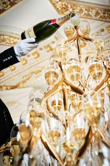 Moet Champagne Tower