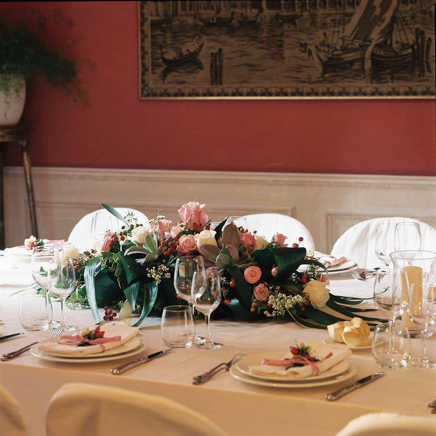 Flowers centerpiece - Luxury Wedding Gallery