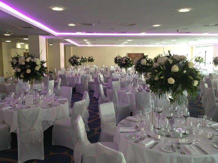 Grand Room Wedding white - Luxury Wedding Gallery