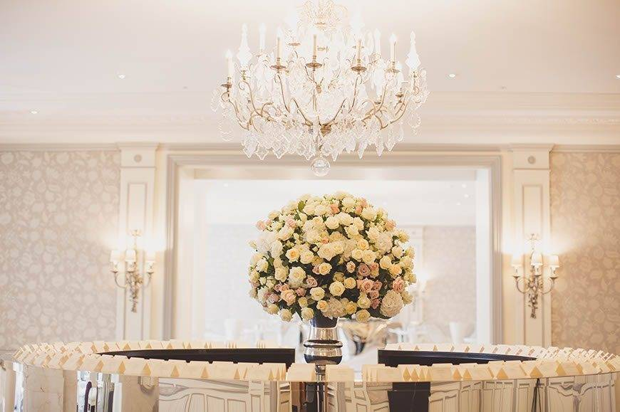 Wedding Flowers At The Savoy