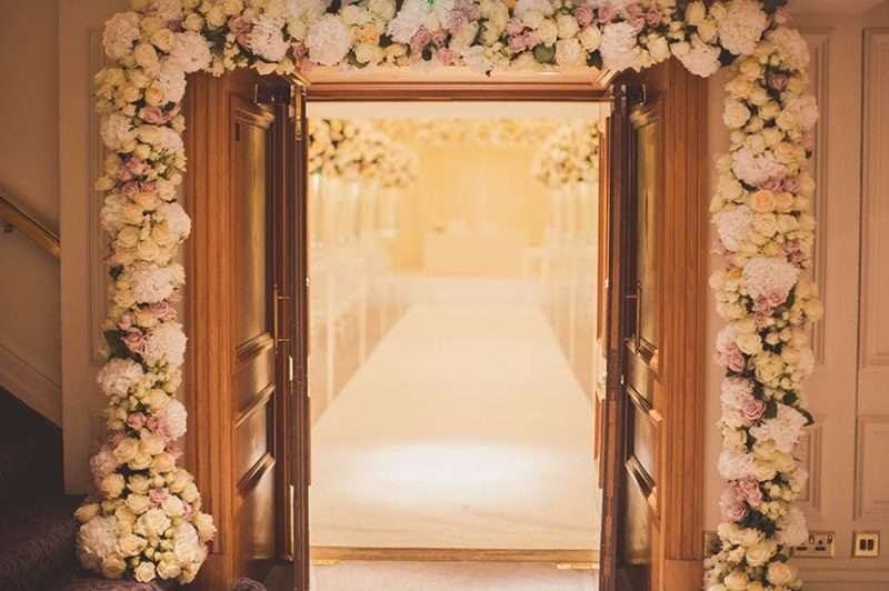 Wedding Reception At The Savoy