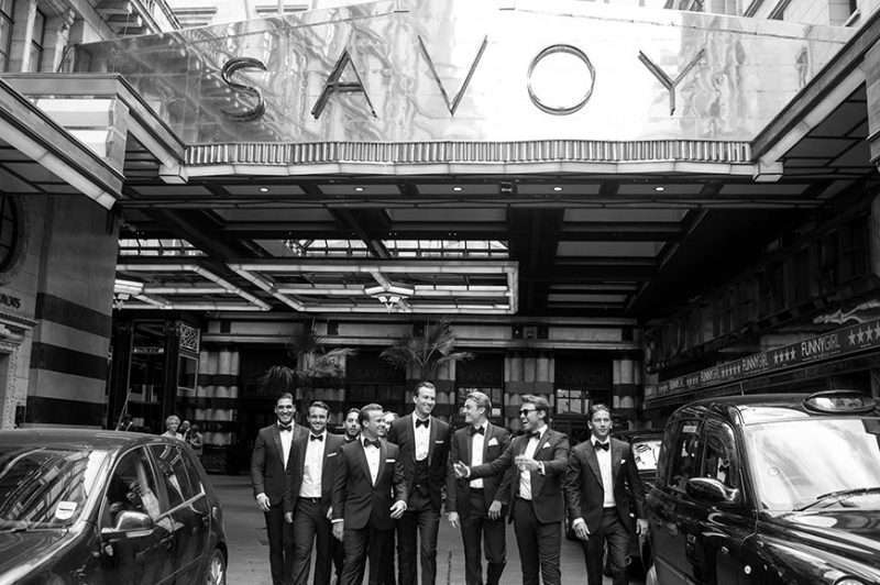 Wedding Reception At The Savoy